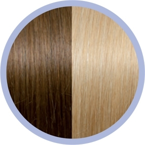 Flat Ring-On 12/DB2 Dark Golden Blonde/Light Golden Blonde