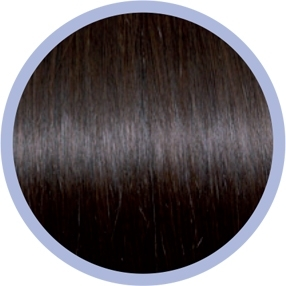 Flat Ring-On Line 4/ Dark Chestnut Brown
