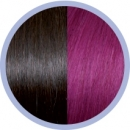 Seiseta Invisible Clip-on 4/62 / Dark Chestnut Brown/Red Violet