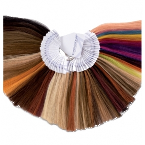 Colour ring of human hair - Small