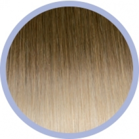 Seiseta Invisible Clip-on 10/20 / Dark blonde/Light Blonde