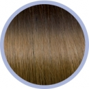 Flat Ring-On Ombre Line 4/14 Dark Chestnut Brown/ Blonde